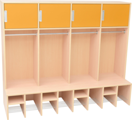 IDEAL garderobes - oranje