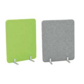 Laag geluiddempend scherm grijs of groen