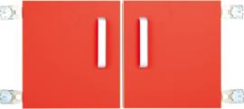 Deur voor niveau verhoger S (092817) - rood