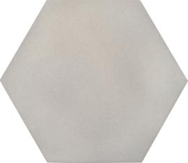 Geluiddempende zeshoek - platina, 20 mm