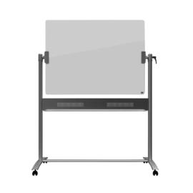 Kantel glasbord Nobo Diamond 90x120cm