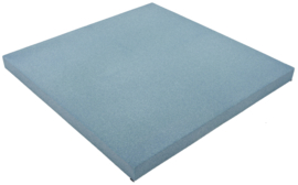 Geluiddempend vierkant - mist, 40 mm