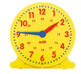 24-uurs leer klok