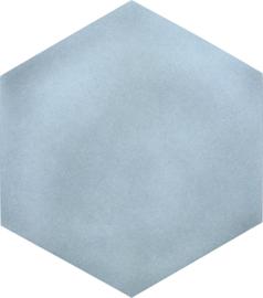 Geluiddempende zeshoek - mist, 40 mm