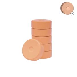 Colorall verfblokken Ø 5,5 cm 6 dlg - Zalmroze
