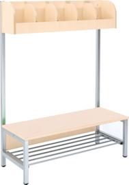 Flexi garderobe 5, zithoogte 26 cm - esdoorn
