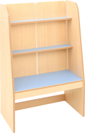 Flexi staande boekenkast - lichtblauw