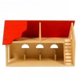 Speelhuis rood