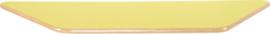 Trapezium Flexi tafelblad 150,5x80x80cm geel los