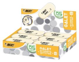 Gum Bic Galet zacht 12 stuks -  Wit