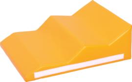 Foam baby hoek  60x20x50cm - Oranje