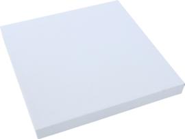 Geluiddempend vierkant PLUS, lichtgrijs