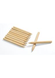 Krasfolie kraspen hout  9 cm 48 stuks