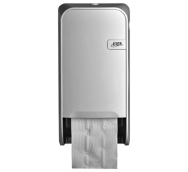 Dispenser Euro Quartz toiletrolhouder doprol wit