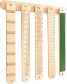 Hanger voor 5 structuur panelen