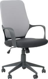 Bureaustoel, grijs-zwart