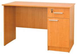 Vigo bureau met kast en lade - beuken