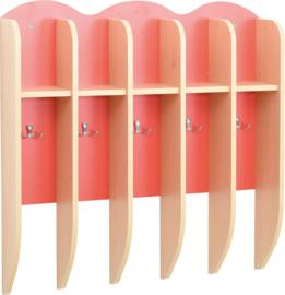 Plank voor bekers - rood