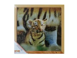Puzzel foto tijger