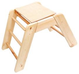 Gymstandaard met plank