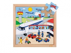 Puzzel luchthaven 16 dlg.