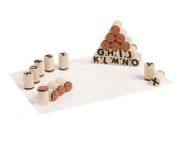 Mini stempels letters