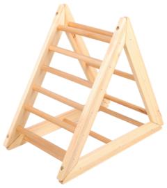 Gym ladder in de vorm van een driehoek