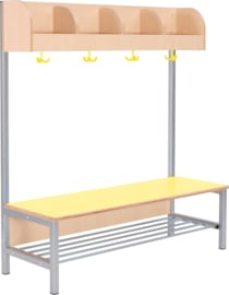 Flexi garderobe met frame 4, hoogte: 26 cm