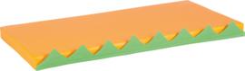 Matras voor activiteiten wand - oranje 1 stuk