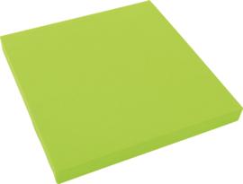 Geluiddempend vierkant PLUS, lichtgroen