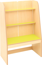 Flexi staande boekenkast - limoen