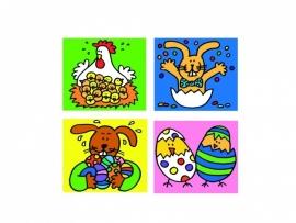 Stickers Pasen - serie 79