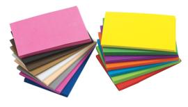 Foam vellen klassenset -  16 kleuren  100 vel