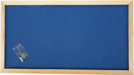 Prikbord 100 x 200 cm - marine