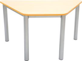Premium trapeziumvormig tafelblad - oranje
