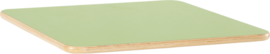 Vierkant Flexi tafelblad 80x80cm groen los