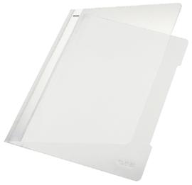 10x Snelhechter Leitz 4191 A4 PVC wit