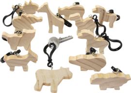 Houten hangers - dieren