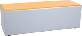 Wachtruimte zitje  40x40x120cm - Grijs/oranje