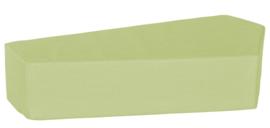 Quadro 2 matras licht-groen, hoogte 20 cm