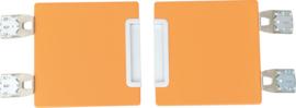 Quadro - garderobe deuren 180 - oranje