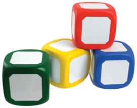 Witte kubus met magneet