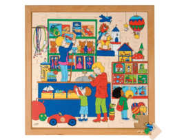 Puzzel speelgoedwinkel