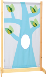 Afscheidingsscherm hoog - de boom