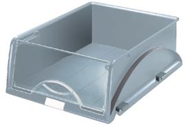 Sorteerbak Leitz 5231 Sorty met klep grijs