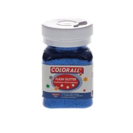 Glitter Colorall blauw 95 gram