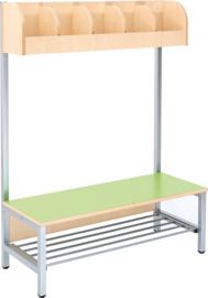 Flexi garderobe 5, zithoogte 26 cm - groen