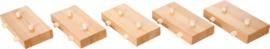 Sokkels voor structuurbanen, 5 st