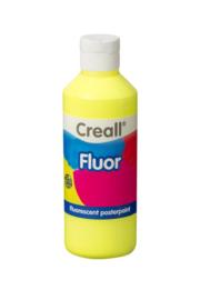 Plakkaatverf Creall fluor 250 ml - Geel