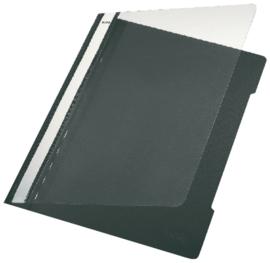 10x Snelhechter Leitz 4191 A4 PVC zwart
